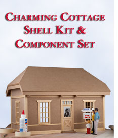 Charming Cottage Shell Kit and Component Set