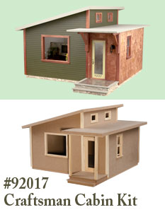 Craftsman Cabin Kit