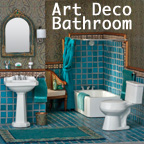 1920s Art Deco Bathroom