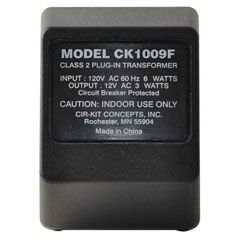 12V/3W Plug-in Transformer by Cir-Kit Concepts