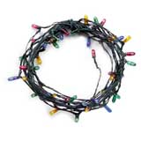 48-Bulb Colored Light String by Cir-Kit Concepts