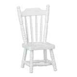 White Spindle Chair
