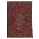 Antique Turkish Red Rectangle Rug