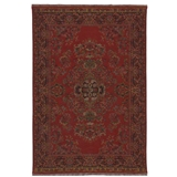 Antique Turkish Large Red Rug