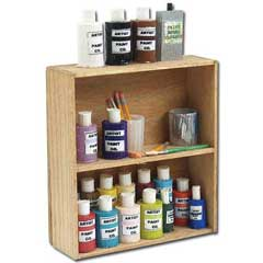Art Supply Shelf