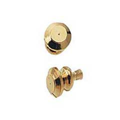 Gold Plated Brass Knob by Houseworks