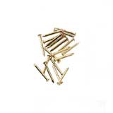 Brass Pointed Pin Nails 6mm by Houseworks