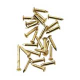 Brass Pointed Pin Nails 4mm by Houseworks