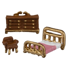 1/144 inch Scale Studio Bedroom Set