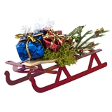 Holiday Sled with Presents