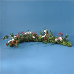 Holiday Berries and Greens Garland