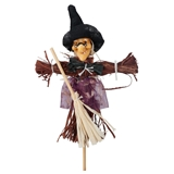 Garden Scarecrow Witch