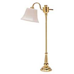 Brass Downbridge Floor Lamp