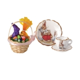 3-Pc Easter Basket Set by Reutter Porzellan