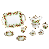 Mistletoe Tea Service for 2 by Reutter Porzellan