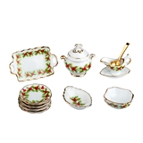 Mistletoe Dinner Set for 4 by Reutter Porzellan