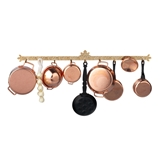 Hanging Pot Rack & Kitchen Essentials