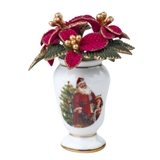 Holiday Poinsettia in Vase by RP