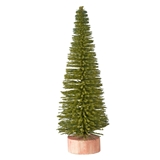 Nine Inch Moss Green Spruce Tree