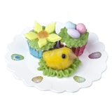 Flower, Eggs and Chick Cupcakes
