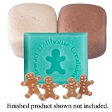 Gingerbread Boy Cookie Mold Kit by Stewart Dollhouse Creations