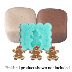 Gingerbread Girl Cookie Mold Kit by Stewart Dollhouse Creations