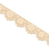 Large Flower Lace Strip