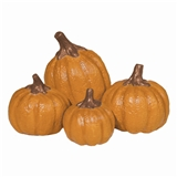 Set of Four Pumpkins