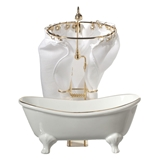 Clawfoot Tub with Shower by RP
