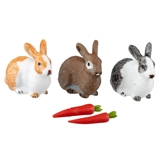 4-Pc Bunny and Veggies Set by Reutter Porzellan