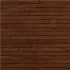 "1/2"" Scale Dark Wood Flooring Paper"