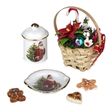 6-Pc Christmas Decorating Set by Reutter Porzellan