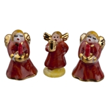 Three Angel Figurines