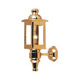 Solid Brass Colonial Coach Lantern