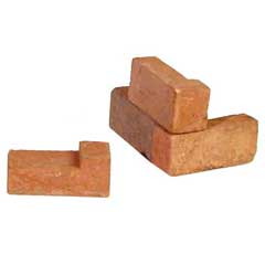 Red Authentic Brick Corners