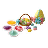 12-Pc Easter Egg & Basket Set