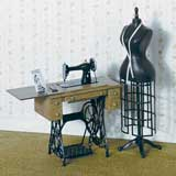Treadle Sewing Machine Kit by Chrysnbon®