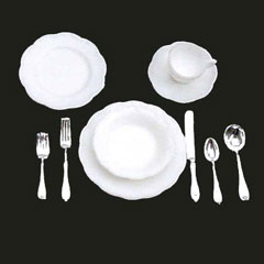 40-Pc. Table Setting