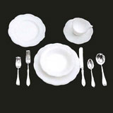 40-Pc Table Setting