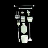 18-Pc. Bathroom Accessories Chrysnbon® Kit