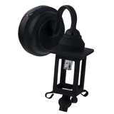 Hamilton Black Coach Sconce by Houseworks