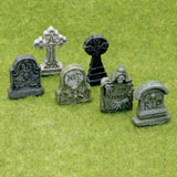 6-Pc. Assorted Tombstone Set