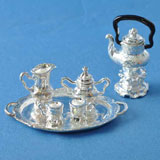 8-Pc. Silver Coffee Set