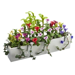 Trumpeting Flower Box