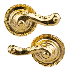 Pair of Rope Trim French Door Door Handles