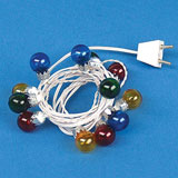 12V Stringed Christmas Ornament Lights