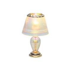Iridescent Teardrop Table Lamp