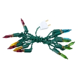 14-Bulb 12V Multi-Color Christmas Light Strings