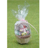 Shrink-Wrapped Large Easter Basket