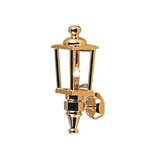 Brass Carriage Lamp